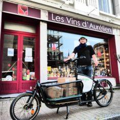 Livraison à vélo offerte à partir de 100€ d'achat