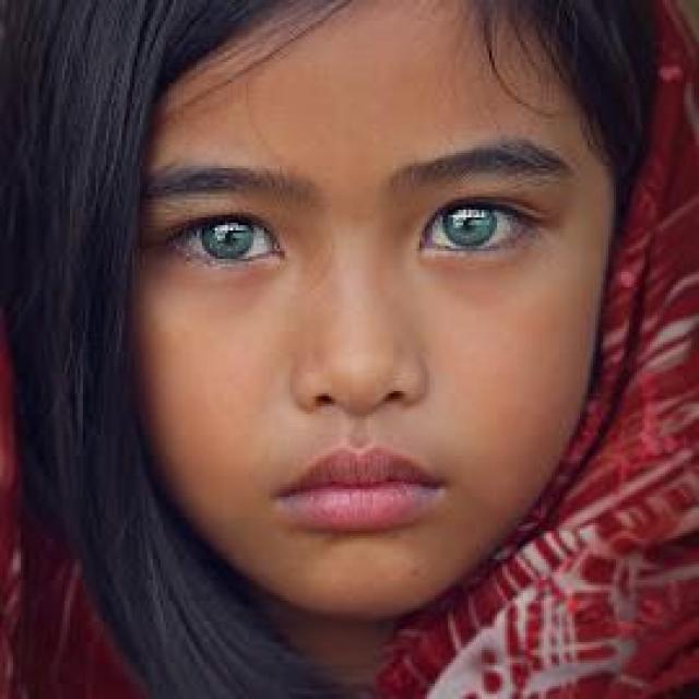 Ingin Tahu Suku Dayak Punan Bermata Biru, Ini Dia