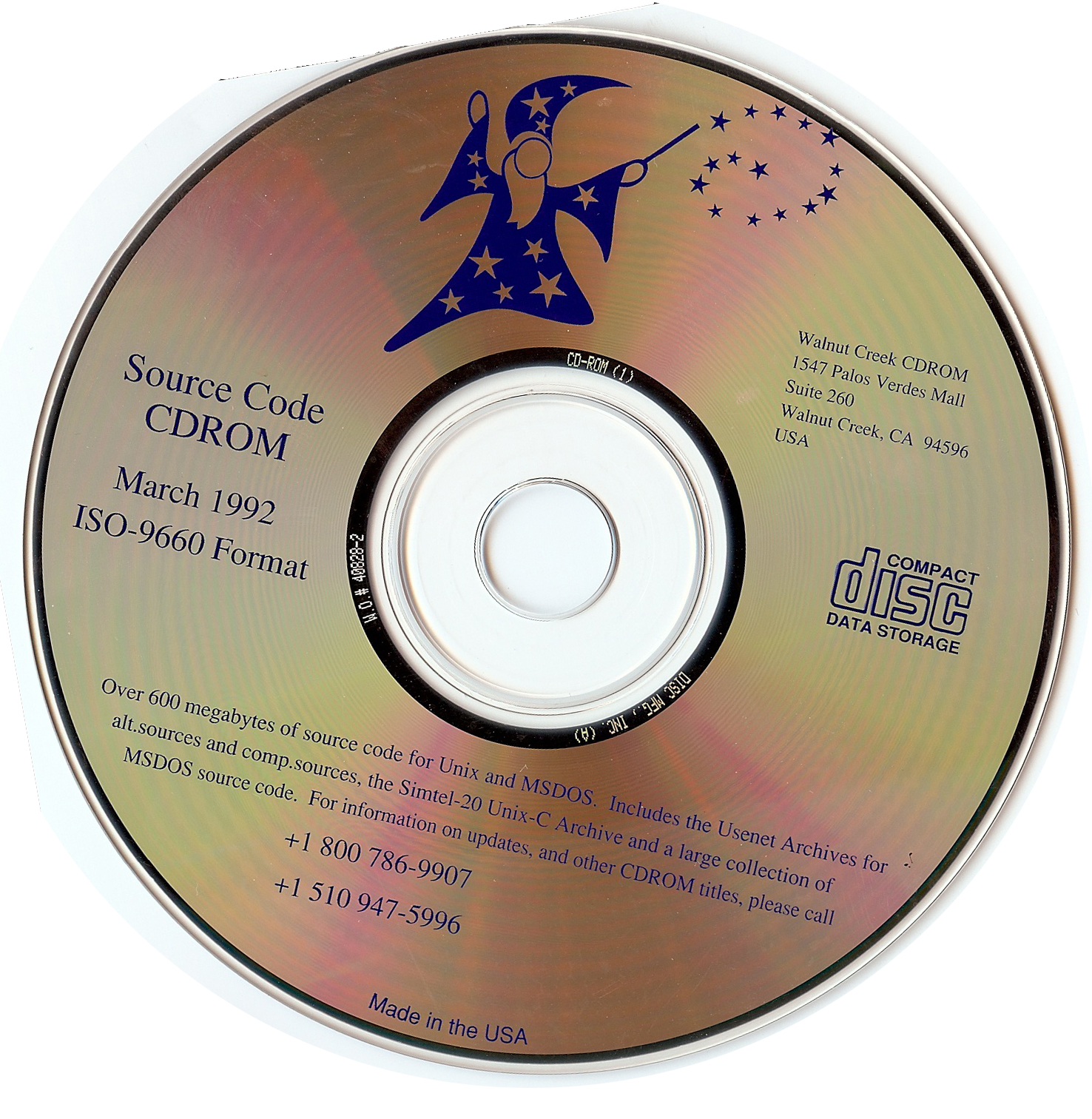 Cd Rom Cederom Compact Disk Read Only Memory Disque