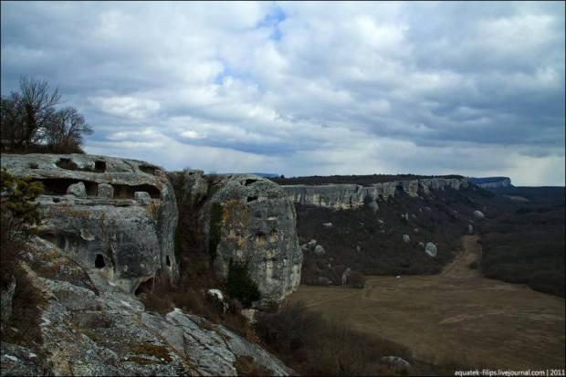 Eski Kerman, a cidade das cavernas
