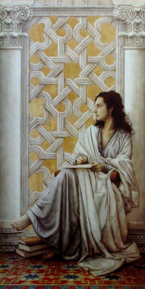 Lukisan Lubna oleh José Luis Muñoz Wanita muslimah berpengaruh dalam sejarah