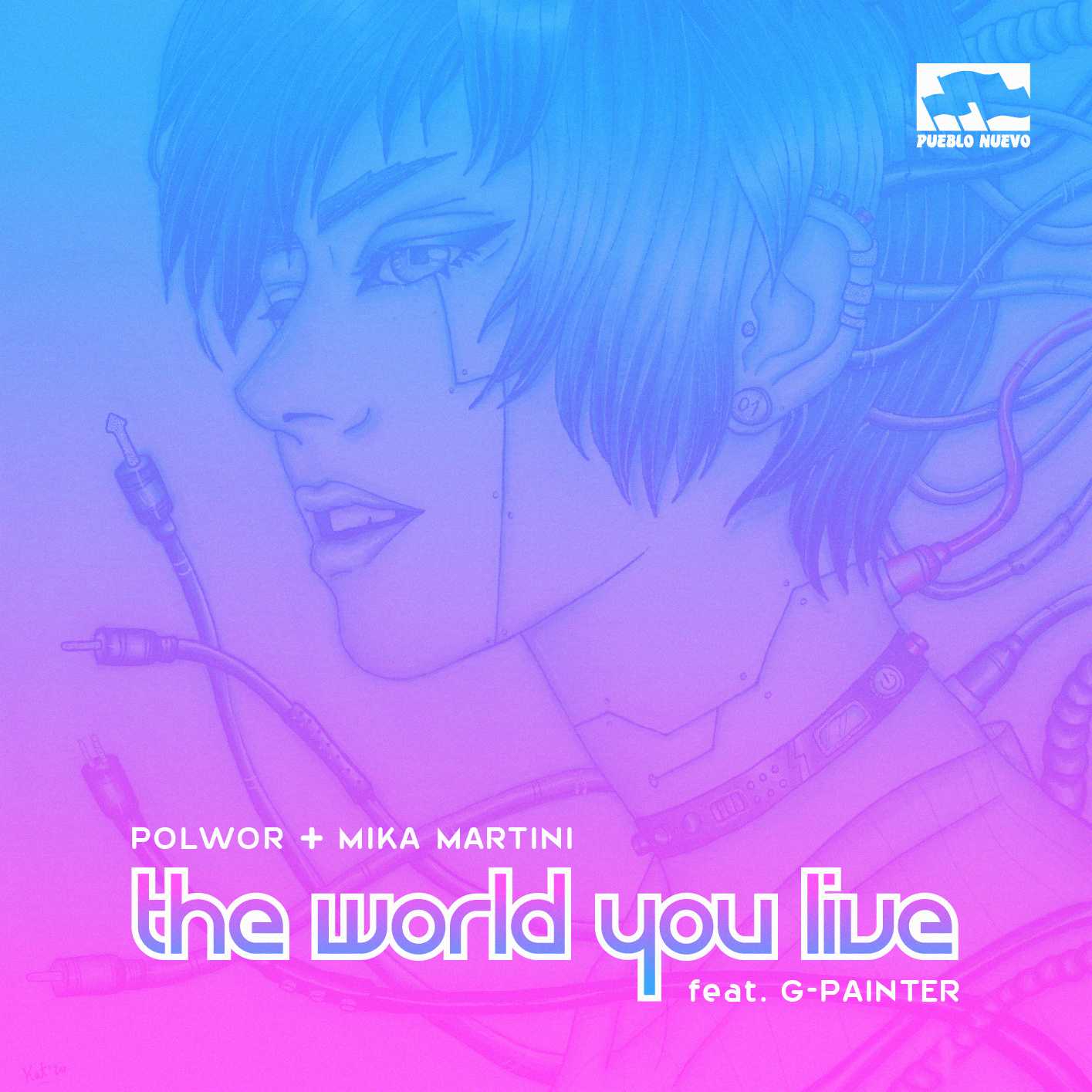 Polwor+Mika+G-Painter – The world you live
