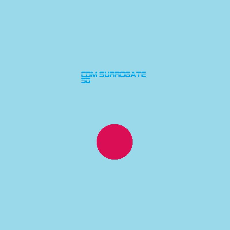 COM surrogate  – 50