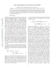 Large - Scale Homogeneity or Principle Hierarchy of the ...