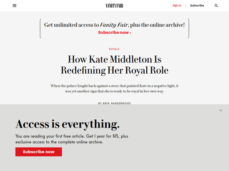 How Kate Middleton Is Redefining Her Royal Role | Vanity Fair