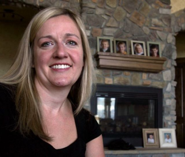 Steve Griffin The Salt Lake Tribune Alpine Residents Jodi Bean And Her Husband Adopted Victoria