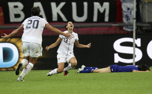 Alex Morgan leads American charge toward soccer gold in ...