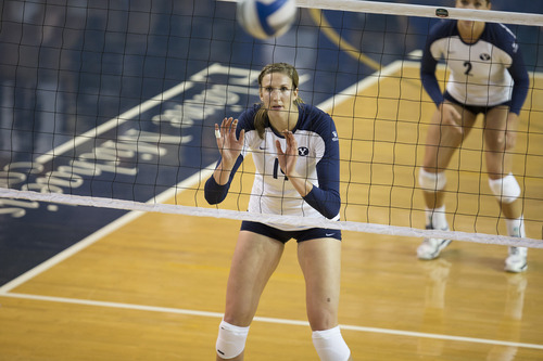 BYU Womens Volleyball Hamson Is Cougars Go To Player