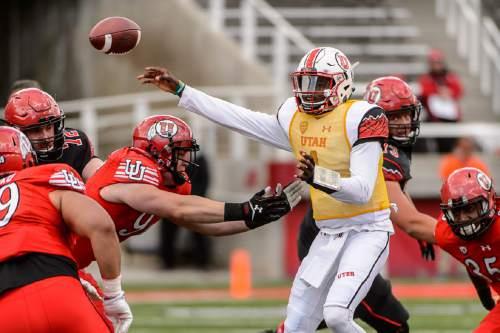 Utah football: Tyler Huntley stars as White team wins, 14 ...