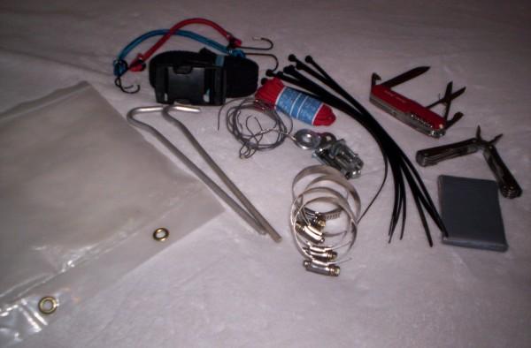 snowshoe repair kit