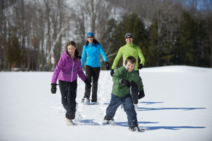 Crystal Mountain Family Snowshoeing 2