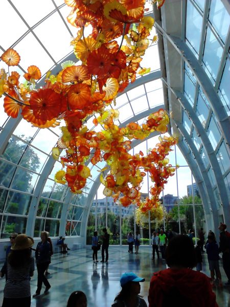 glass house at Dale Chihuly, Seattle