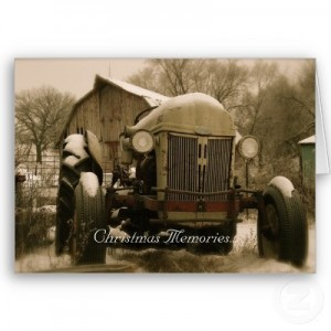 Ford Tractor Christmas Memories