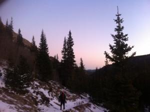 End of trail dusk - Cameron L. Martindell/offyonder.com