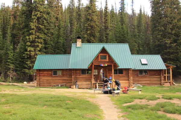 The Stanley Mitchell Hut in summer
