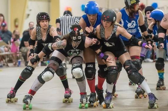 roller derby photo