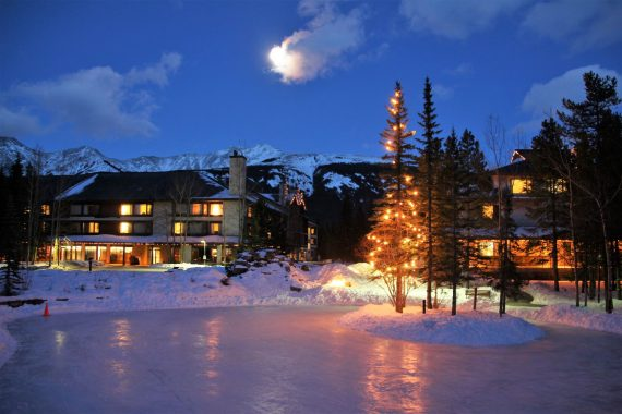 Christmas at Kananaskis Mountain Lodge