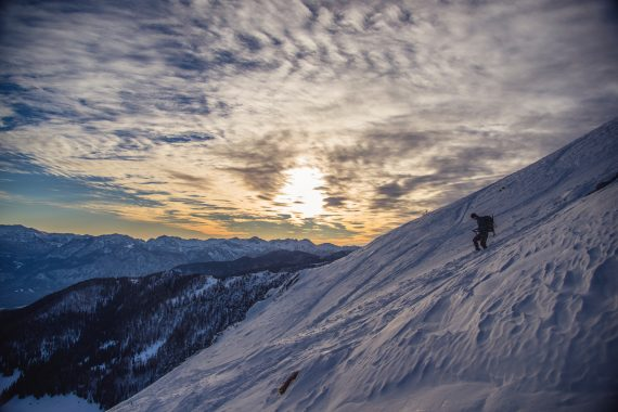 backcountry snowshoeing