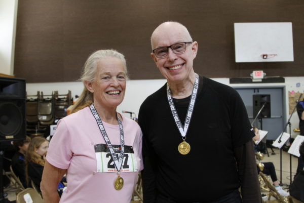 senior snowshoe racing winners