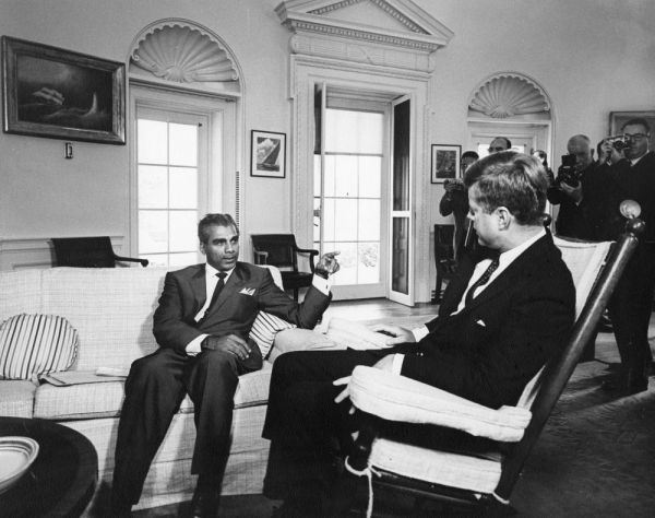 Meeting with Cheddi Jagan, Premier of British Guiana, 11 ...