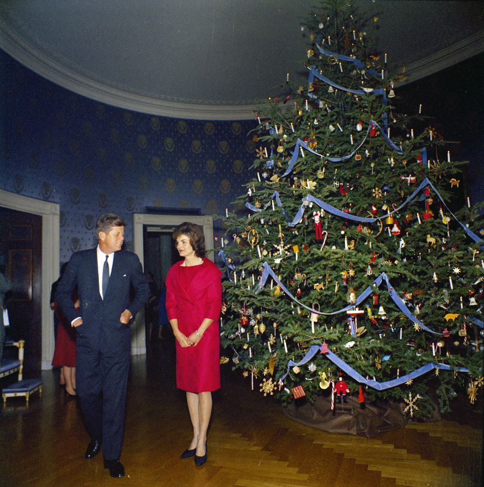 President Kennedy And First Lady Jacqueline Kennedy JBK