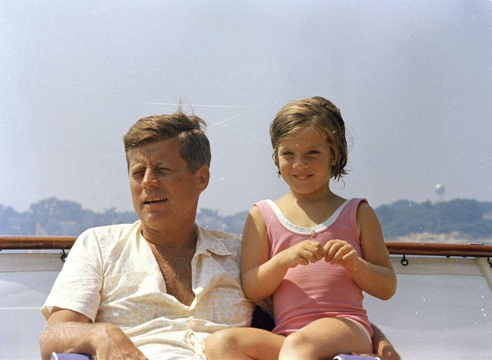 ST C250 34 63 President John F Kennedy With Caroline