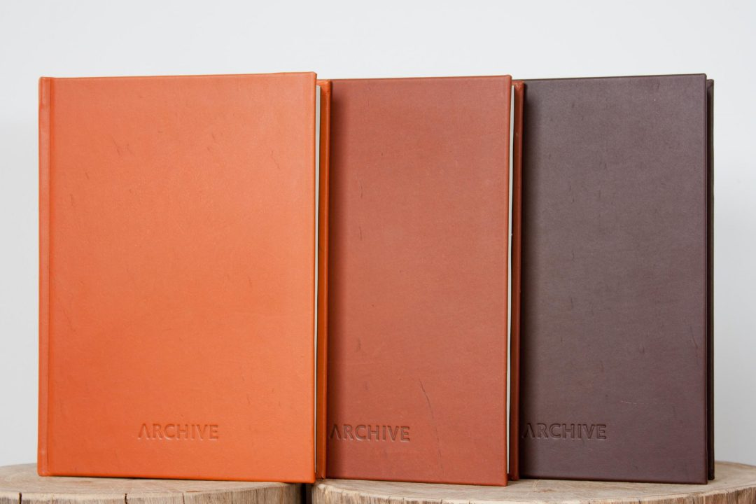 A4 Veg Tan Kangaroo Leather Archive Journal