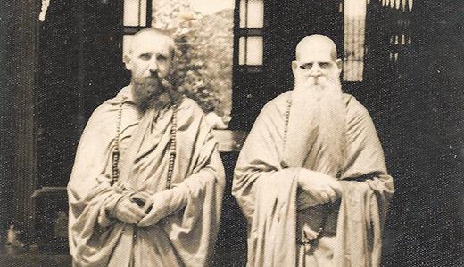 "Most Rev. Karlis A. M. Tennisons, the Buddist Archbishop of Latvia."" and The Most Rev. Friedrich Lustig."