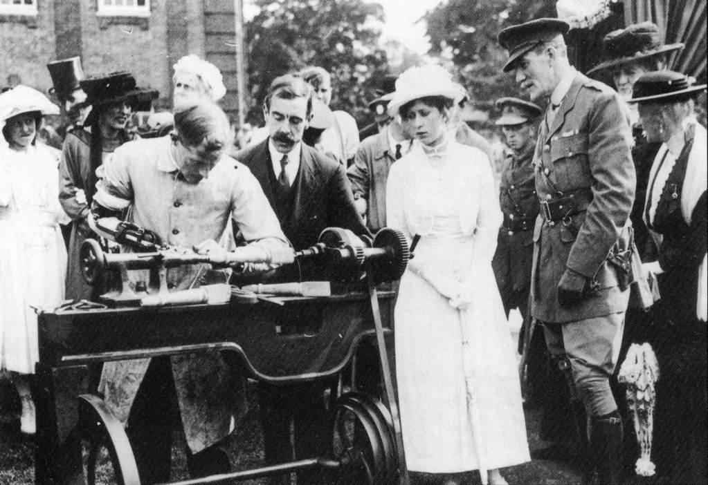 Princess Royal visits During 1st World War