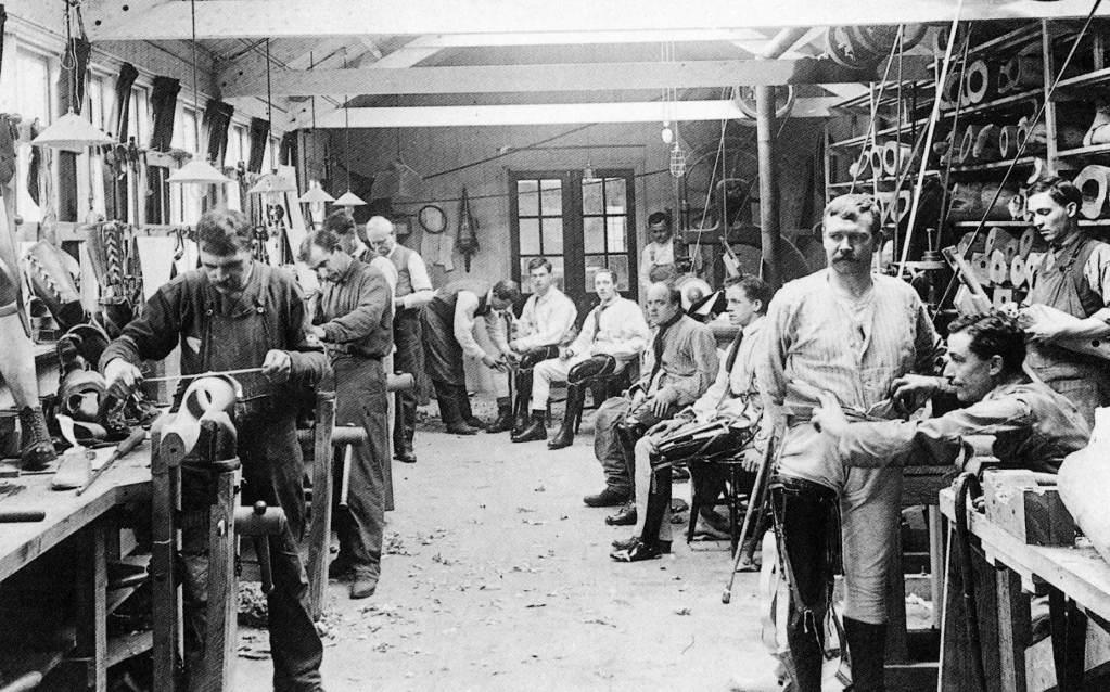 Limb factory 1st World War