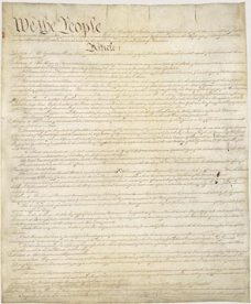 Page 1 of the United States Constitution