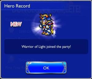 FFRK Warrior of Light