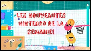 Nouveautés eShop de Nintendo!