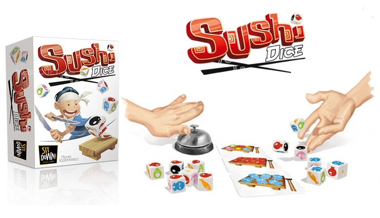 Sushi dice!