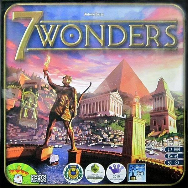 7 Wonders : La boîte