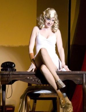 Cathy A Wilcox stars as Ulla in the Thomaston Opera House production of 'The Producers. Thomaston Opera House