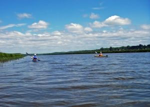 Lake Champlain provides a piece of kayaking heaven.