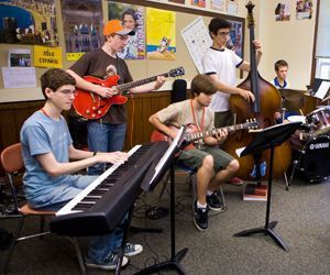 Litchfield Jazz Camp students will again perform free shows this year in Kent. Antonio Monteiro