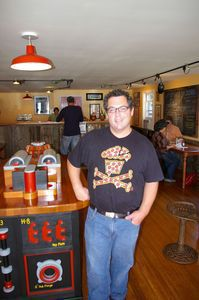 Husk owner Jordan Stein opened the restaurant for what he says was a selfish reason. Bud Wilkinson / Republican-American