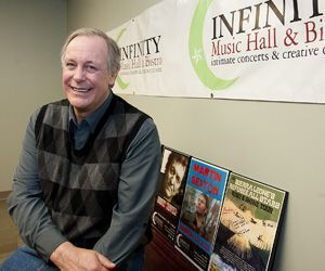 Dan Hincks is owner of Infinity Music Hall & Bistro in Norfolk. He breaks ground Tuesday on a second location in Hartford. Jim Shannon / Republican-American