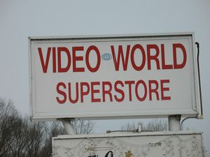Video World, the only video store in Woodbury, closed its doors in 2010 after 23 years. RA Archive