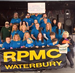Greater Waterbury March for Babies team City Limits Café/RPMC raised about $5,600 for March of Dimes this year.