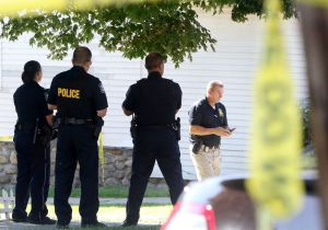 Police are investigating a death on Marion Avenue in Waterbury Wednesday. Steven Valenti Republican-American