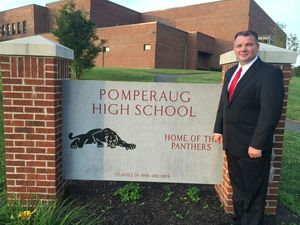 Glenn Lungarini, a former physical education teacher at Pomperaug High School, is coming back as its next principal. Contributed Photo