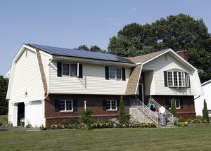 Solar panels were installed on the home of Kenny and Katie Curran of Waterbury less than a year ago. The Clean Energy Finance and Investment Authority's Smart E-Loan program was setup to help encourage solar installation at residents homes. Christopher Massa Republican-American