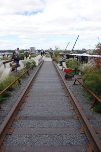 The High Line at the Rail Yards, which is the third and final stretch of the park, opened in September. The High Line is an elevated path on old railroad tracks in Manhattan.  CARRIE MACMILLAN / REPUBLICAN-AMERICAN