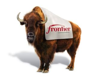 The top category of consumer complaints in 2014, telecommunications and related services, was dominated by complaints about the transition last fall of U-verse, landline and broadband Internet services from AT&T Inc. to Frontier Communications Corp., whose mascot Frank the buffalo is seen here. Contributed.