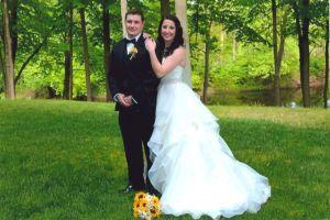 Wedding, Laura Przytulski and James Motasky.