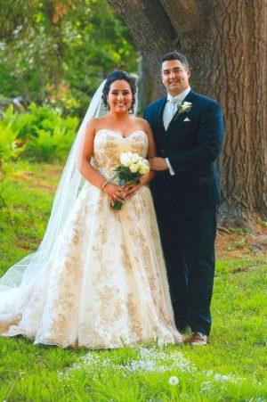 Wedding, Gaetana Albanese and Michael Sanders.