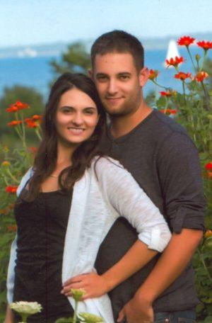 Engagement, Kirsten Blanc and Corbin Mandeville.